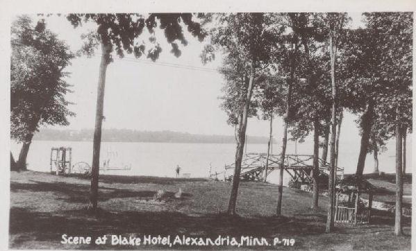 Scene at Blake Hotel