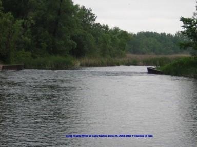 Carlos Dam 2003 after record rainfall