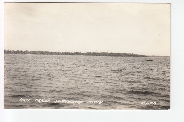 Lake Carlos circa 1945